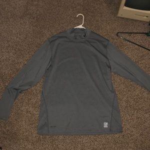 XL Gray long sleeve Nike golf dri-fit!!
